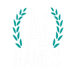 ai games logo white