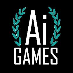 ai games logo white